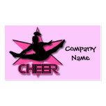 Cheerleader Business Card Template