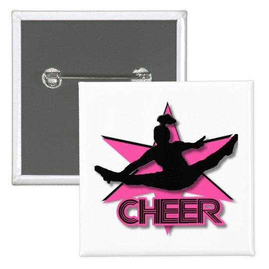Cheerleader Button