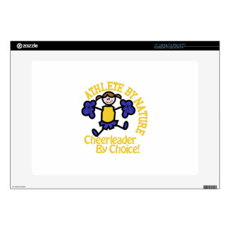 Cheerleader By Choice Laptop Skin