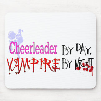 Cheerleader by day, Vampire by Night Mouse Pad