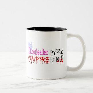 Cheerleader by day, Vampire by Night Coffee Mugs