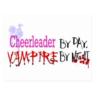 Cheerleader by day, Vampire by Night Postcard