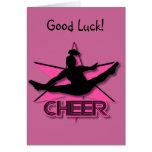 Cheerleader Card