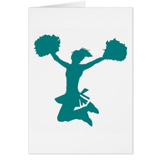 Cheerleader Card