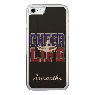 Cheerleader Carved iPhone 8/7 Case