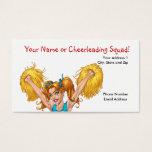 Cheerleader Cheerleading Business Customizable Business Card