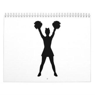 Cheerleader cheerleading calendar