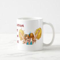 cheerleaders, cheerleading, cheer, pom poms, al rio, Mug with custom graphic design