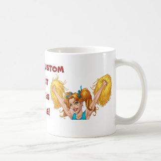 Cheerleader Cheerleading Customizable Stuff Coffee Mug
