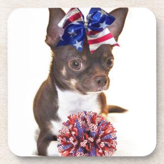 Cheerleader Chihuahua Coaster