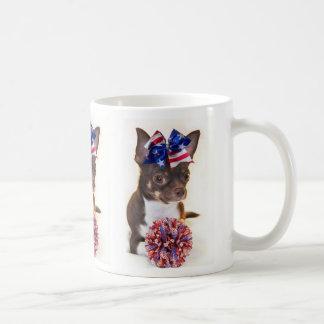 Cheerleader Chihuahua Coffee Mug