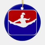Cheerleader Christmas Ornaments