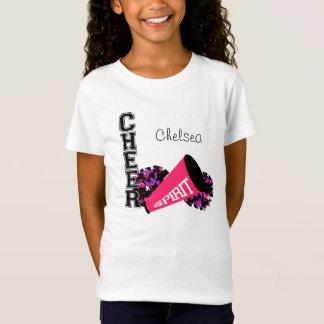 Cheerleader Customizable Pink T-Shirt