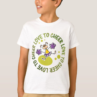 cheerleader cute cartoon T-Shirt