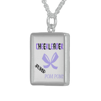 Cheerleader Dance Sterling Silver Necklace