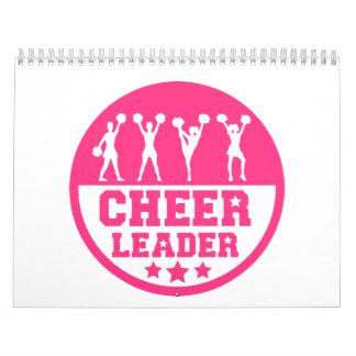 Cheerleader dancing calendar