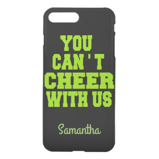 Cheerleader Flyer personalized iphone 7 case