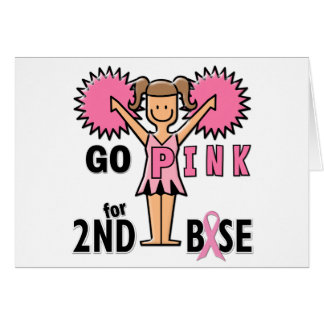 Cheerleader For 2nd Base Card