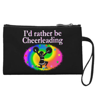 CHEERLEADER FOREVER DESIGN WRISTLET WALLET