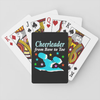 CHEERLEADER FROM BOW TO TOE PLAYING CARDS