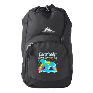 CHEERLEADER FROM BOW TO TOW BACKPACK