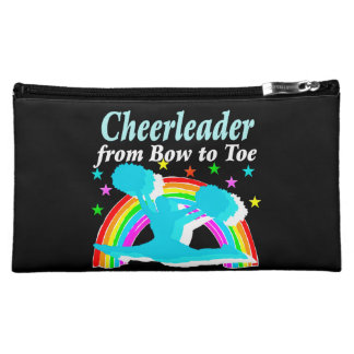 CHEERLEADER FROM BOW TO TOW MAKEUP BAG