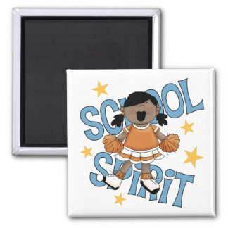 Cheerleader Gift 2 Inch Square Magnet