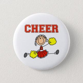 Cheerleader Gift Pinback Button
