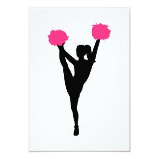 Cheerleader girl card