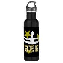Cheerleader gymnast stainless steel water bottle