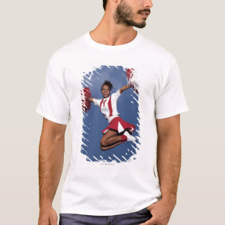 Cheerleader in mid-air T-Shirt