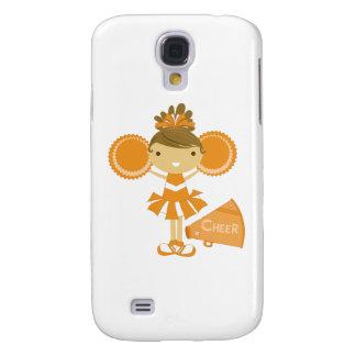 Cheerleader in Orange Samsung S4 Case