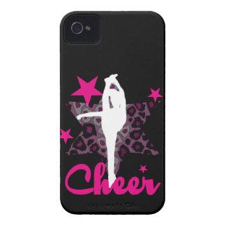 Cheerleader in pink iPhone 4 cover