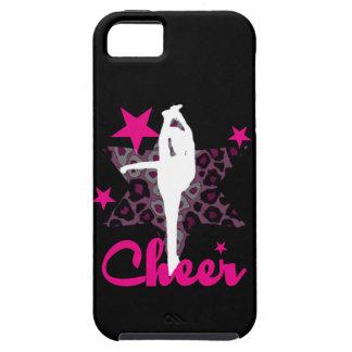 Cheerleader in pink iPhone SE/5/5s case