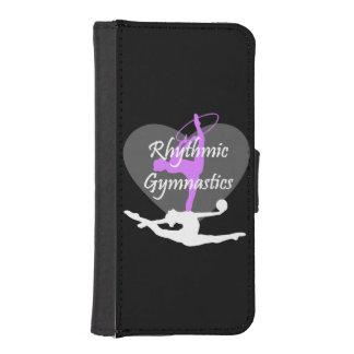 Cheerleader in pink phone wallet case