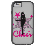 Cheerleader in pink tough xtreme iPhone 6 case