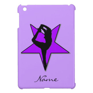 Cheerleader in purple ipad Mini Case