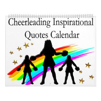 CHEERLEADER INSPIRATIONAL QUOTES CALENDAR