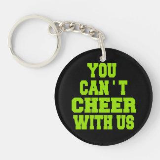 Cheerleader Acrylic Keychain
