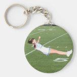 Cheerleader keychain