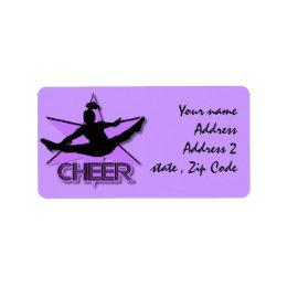 Cheerleader Label