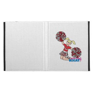 Cheerleader - Light/Blonde iPad Folio Covers