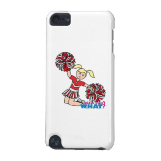 Cheerleader - Light/Blonde iPod Touch (5th Generation) Cases