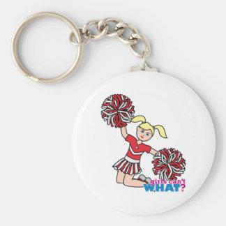 Cheerleader - Light/Blonde Key Chains
