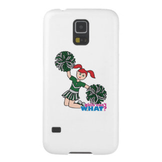 Cheerleader - Light/Red Galaxy S5 Cover