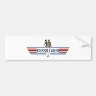 Cheerleader Logo Bumper Sticker