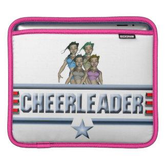Cheerleader Logo iPad Sleeve
