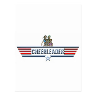 Cheerleader Logo Postcard