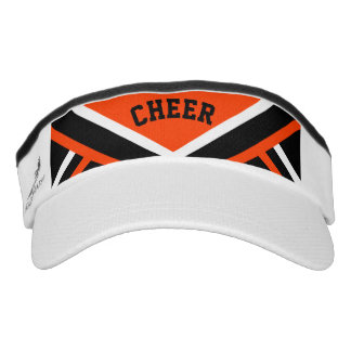 Cheerleader Outfit in Orange Visor