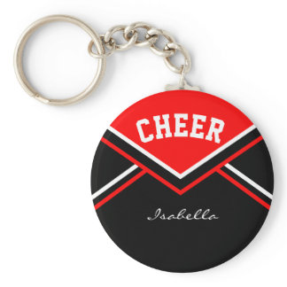 Cheerleader Outfit in Red Keychain